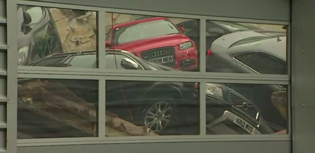 Dealership Roof Collapse Ends In Massive Audi-valanche