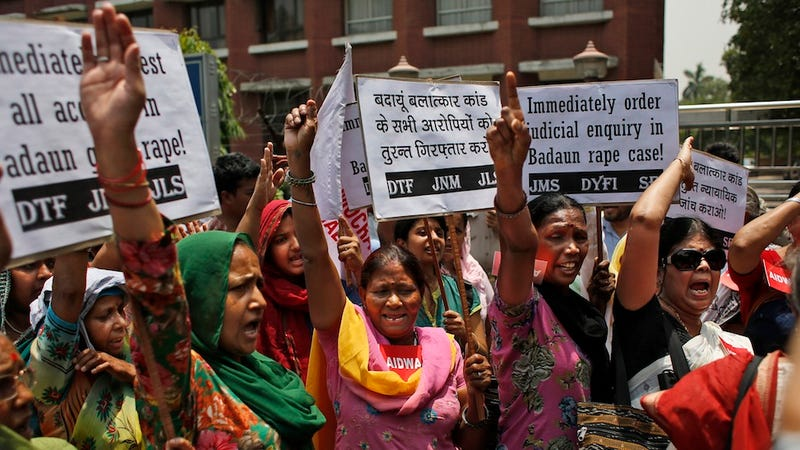 Three Suspects Confess to Rape, Murder of Two Girls in Northern India