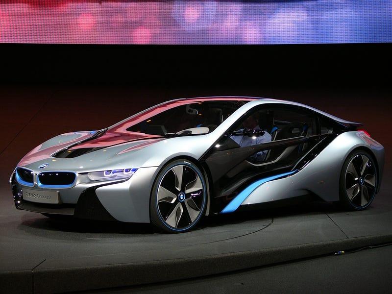 BMW i8 + i3