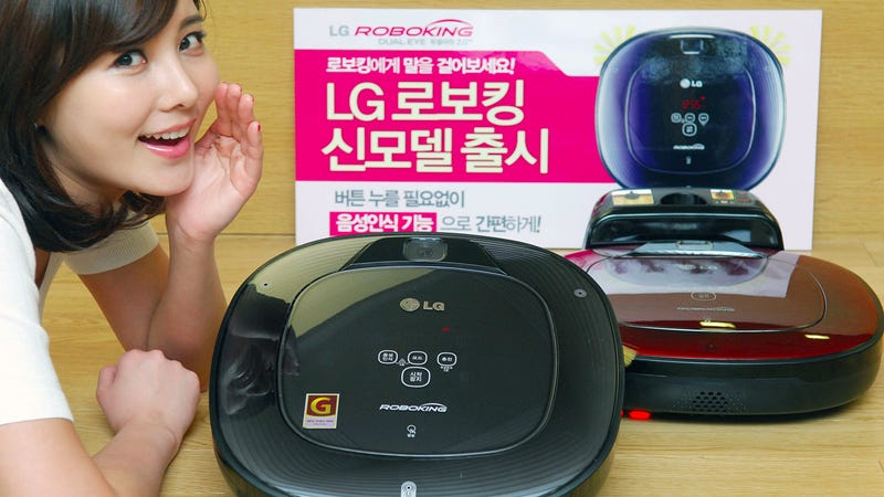 LG's New Robo Vacs Come When They're Called