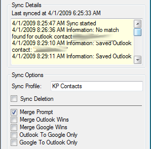 GO Contact Sync Keeps Google and Outlook Contacts Matched