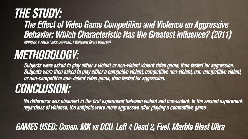 25 Video Game Violence Studies, Summarized