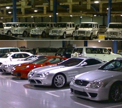This Is The Sultan Of Brunei's Garage