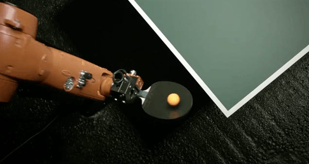 Robots Can Not Beat Us At Ping Pong (Yet)