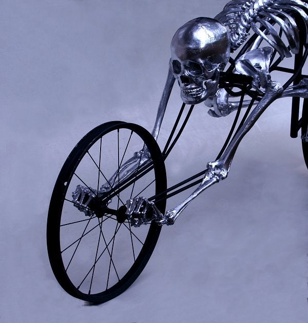 Skeleton Bicycle Will Give Me Nightmares for Weeks