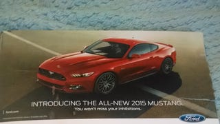 Ford Mustang Marketing: Effective on at least one hedgehog!