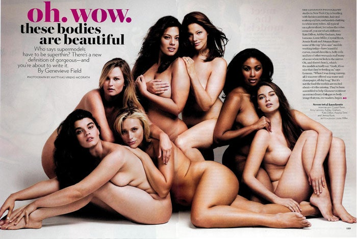 "Glamour's ""Big"" Issue: Plus-Size Models, Plus-Size Problems"