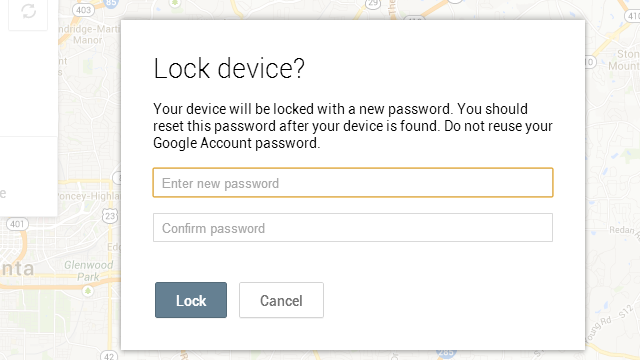 Android Device Manager Can Now Lock Your Phone Remotely