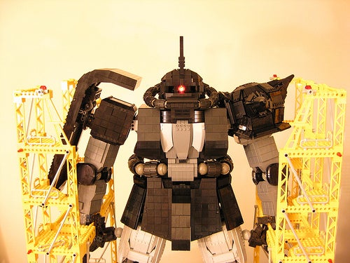 Massive Lego Mecha Can Probably Kill Humans, then Drink Ten Packs of Good Ole Fortran
