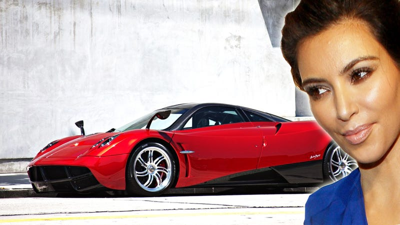 Kim Kardashian Checked Out The Only $2 Million Pagani Huayra In America