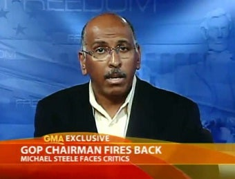 Michael Steele Knows People Just Have a Problem With his 'Streetwise' Attitude