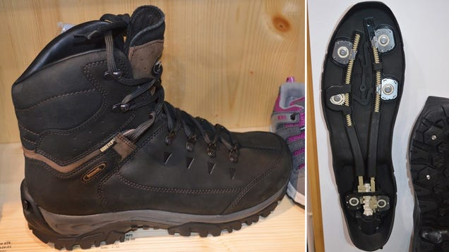Retractable Spikes Let These Boots Tackle Any Terrain