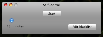 SelfControl Blocks Internet Distractions with Brute Force