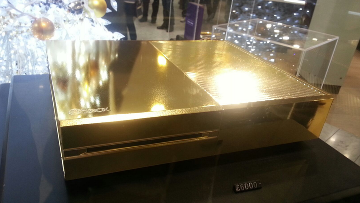 This 24-Karat Gold Xbox One Is On Sale in Harrods for $10,000