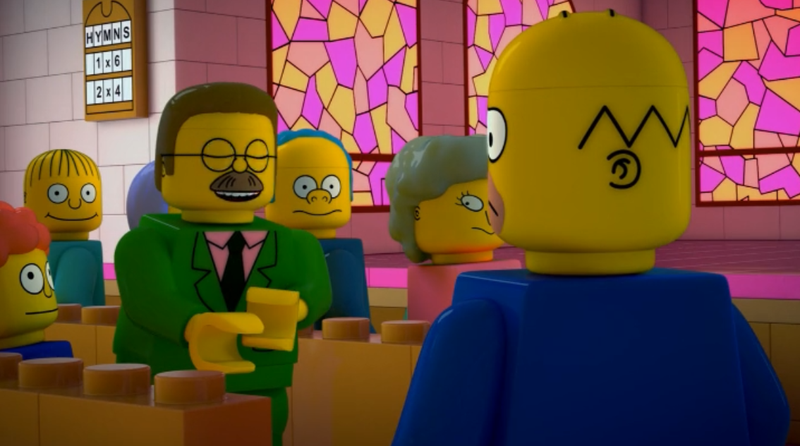 Last Night's LEGO Simpsons Episode Was Filled With Philip K. Dick Puns
