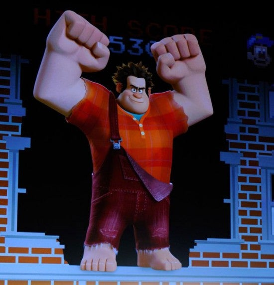 First Look at Wreck-It Ralph and his 8-bit Girlfriend