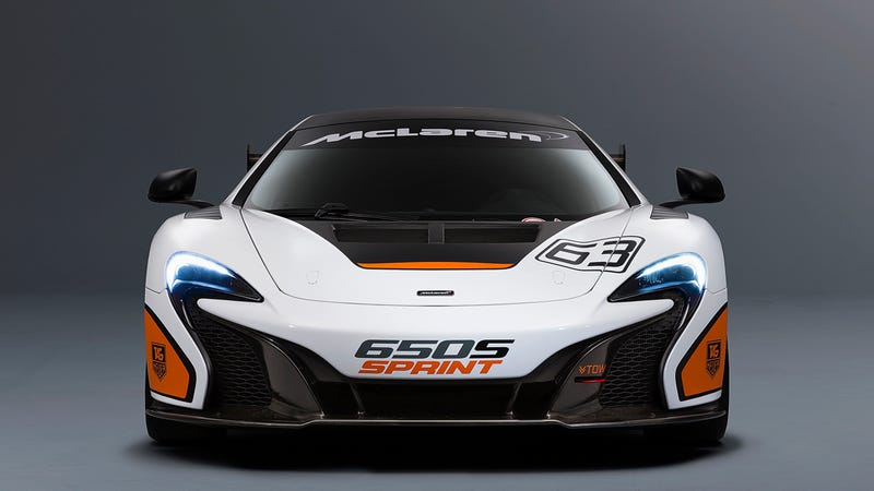 The McLaren 650S Sprint Is The GT3's Slightly Less Sinister Sibling