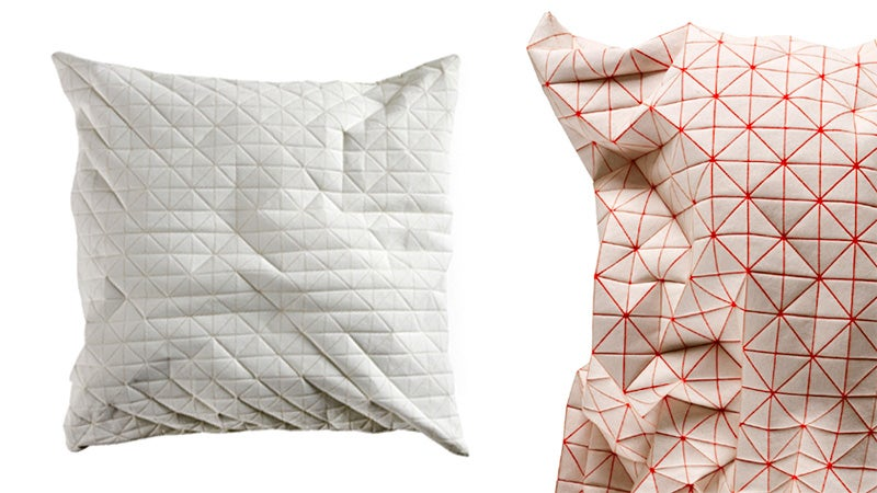 Not Even a Robot Would Find These Polygonal Pillows Comfortable
