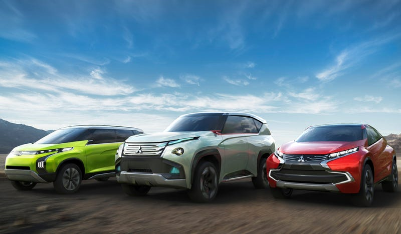Mitsubishi's Trio Of Tokyo Concepts Is Shockingly Rational