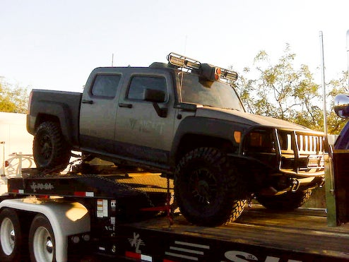 Transformers Revenge Of The Fallen Hummer H3 Spotted Near Phoenix