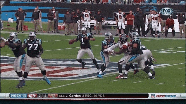 The Kick Is Up, And It's Good!: Your Sunday NFL GIF Roundup [Updated]