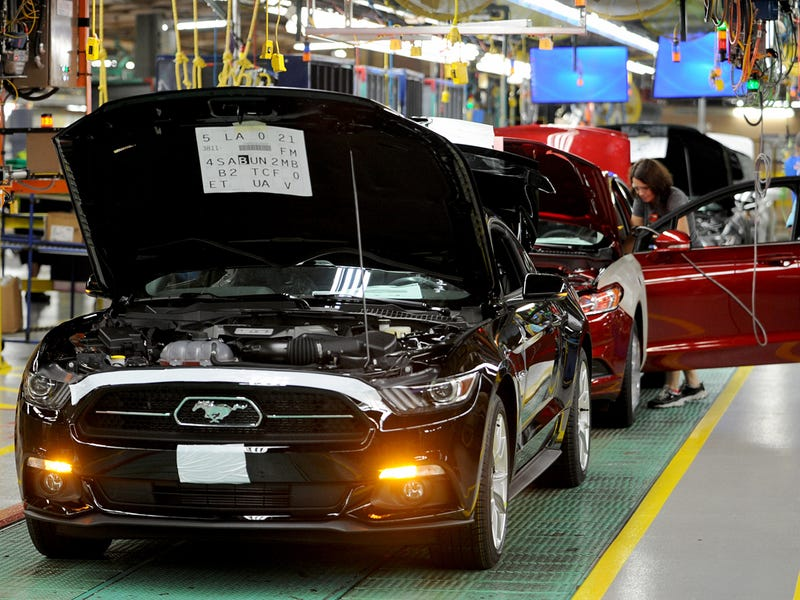 2015 Mustang now in full production