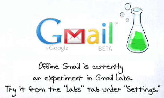 Gmail Goes Offline with Google Gears