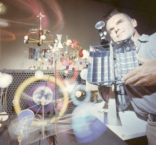 Charles Eames and His Solar-Powered Toy Cosmos
