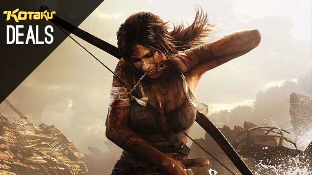 Deals: Tomb Raider Definitive, Sin City Comics, Storage, Free Apps