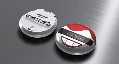 Newman's Cool Man MP3 Player: Pin it to Your Uniform For Extra Flair