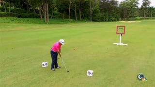 Chi Chi Rodriguez's New Trick Shot: Bouncing A Golf Ball Off His Nuts
