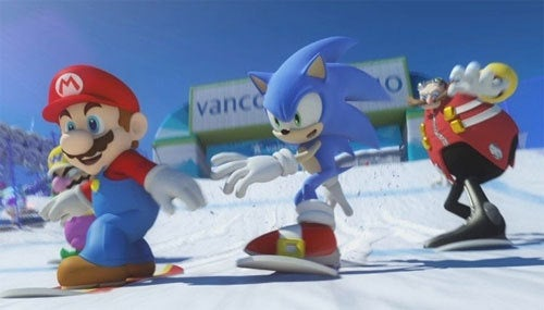 Mario & Sonic Winter Games Sells Six Million