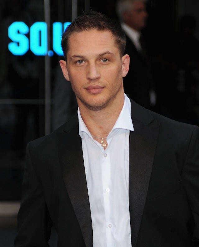 Tom Hardy Is Making Everything Wet