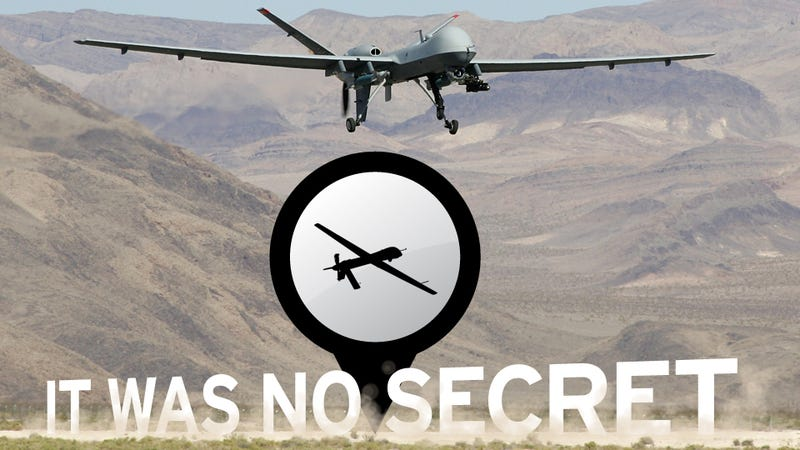 The 'Secret' Saudi Drone Base Revealed By The Times Today Was Actually Reported Months Ago