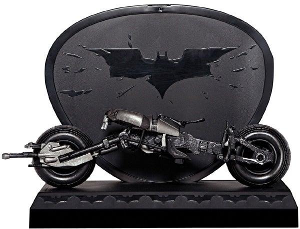 Limited Edition Dark Knight Blu-ray With Bat-Pod Display Case