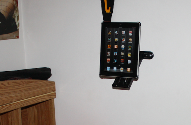 The Lazy Man's DIY iPad Swivel Mount