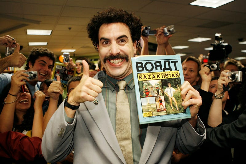 Kazakh Foreign Minister Says Borat Responsible for Tourism Boom