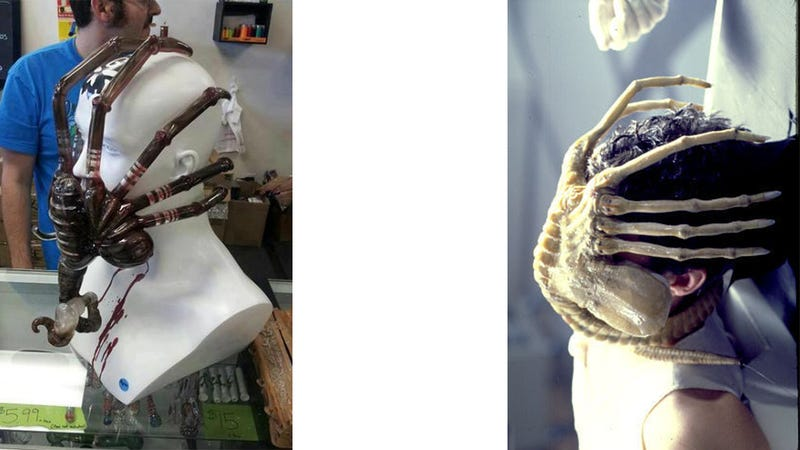 This Alien Facehugger Bong Is One of the Most Horrible Ideas Ever