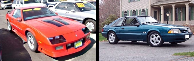 Heinously Unreliable Used Car Battle of the Week: American Muscle