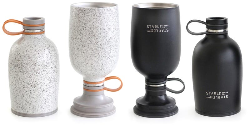 Class Up Your Camping With a Canteen That Turns Into a Pint Glass