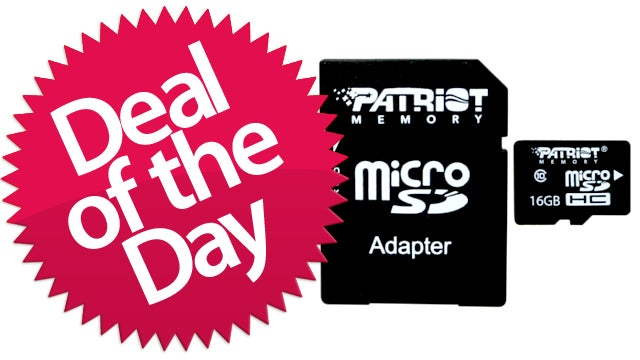 This 16GB Class 10 Micro SDHC Is Your Itty-Bitty Deal of the Day