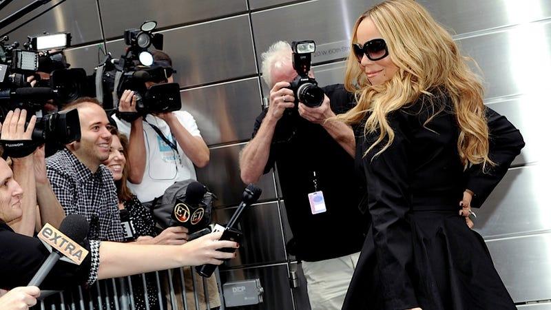 Mariah Prepares to Judge, Host and Win American Idol