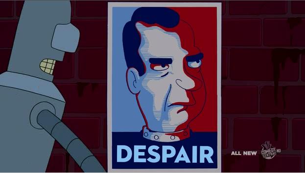 Futurama makes me wish Nixon were president