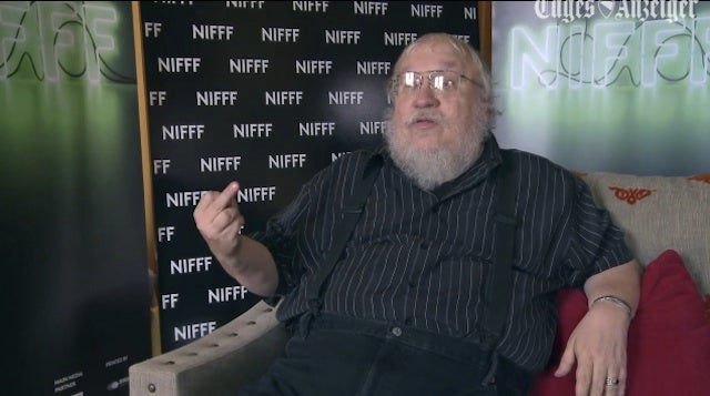 """GRRM Tells People Who Think He Won't Finish The Books """"F*ck You"""""""