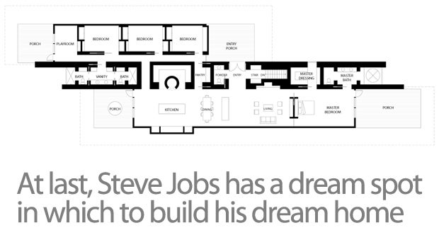 Exclusive Shots of Steve Jobs' Demolished House