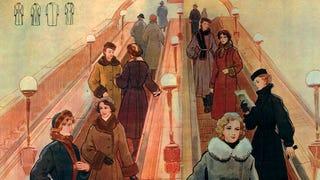 Vintage Fashion Spreads shot in the Soviet Union