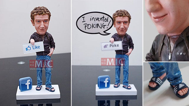 Mark Zuckerberg Action Figure Has 'F— You' Sandals