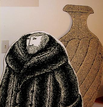 Own A Vintage, Edward Gorey Fur Coat