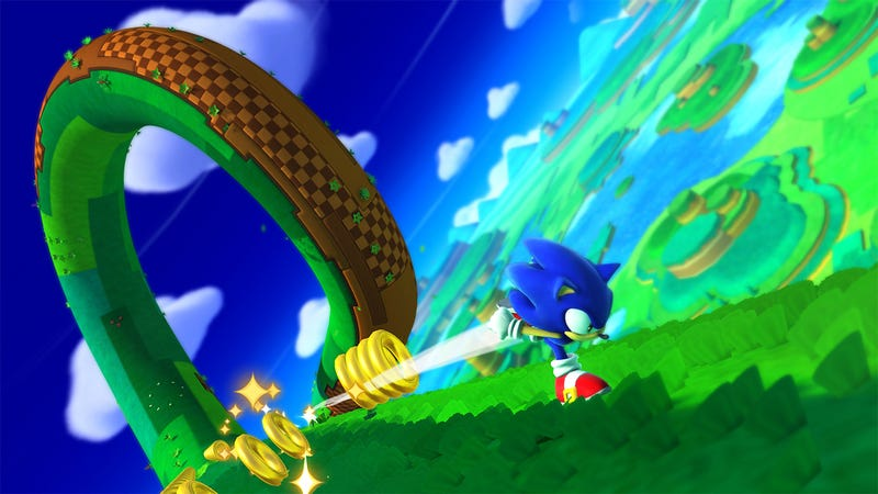 Super Sonic The Hedgehog Galaxy Is Looking Pretty Sharp