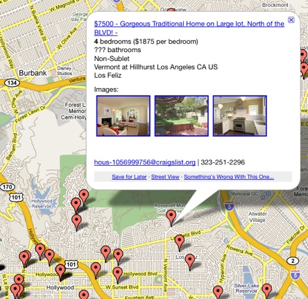 PadMapper Puts Craigslist Rentals on a Google Map